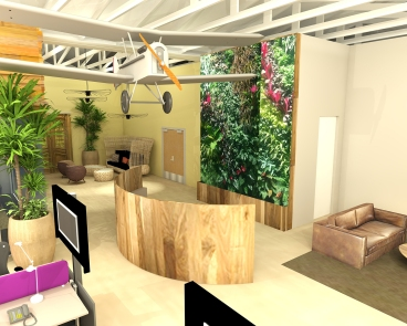 Dailymotion living wall